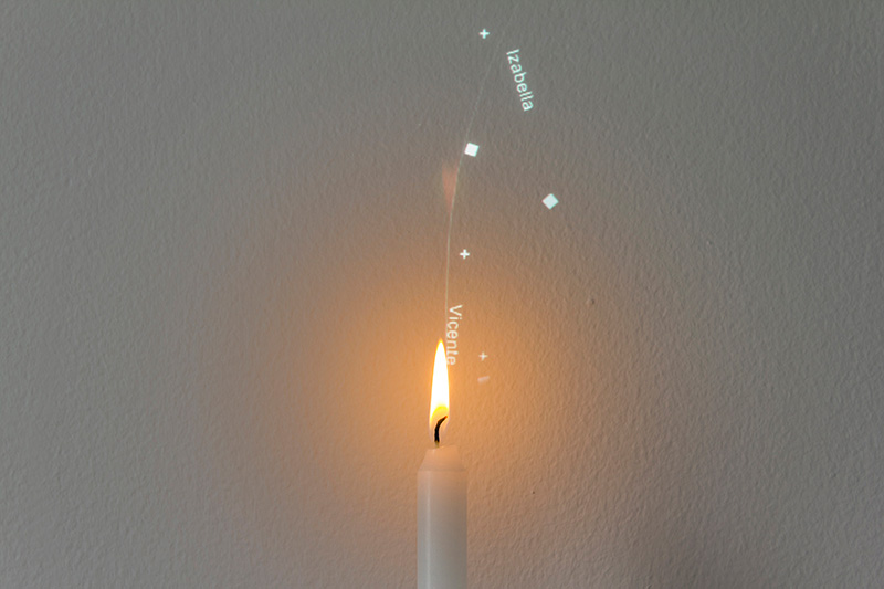 Candle Philippe Safire 001