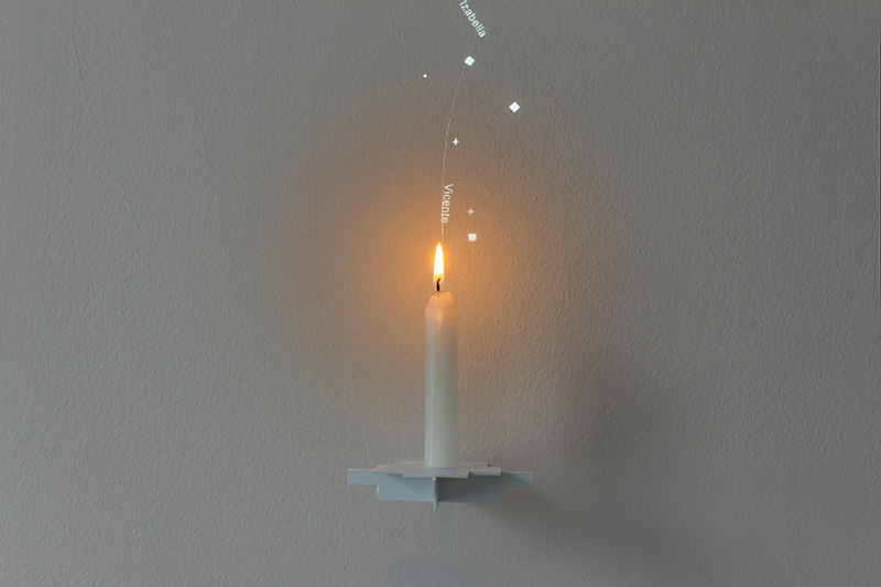 Candle Philippe Safire 003